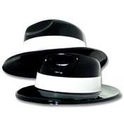Black Gangster Hats
