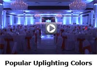 Popular Up-lighting Colors