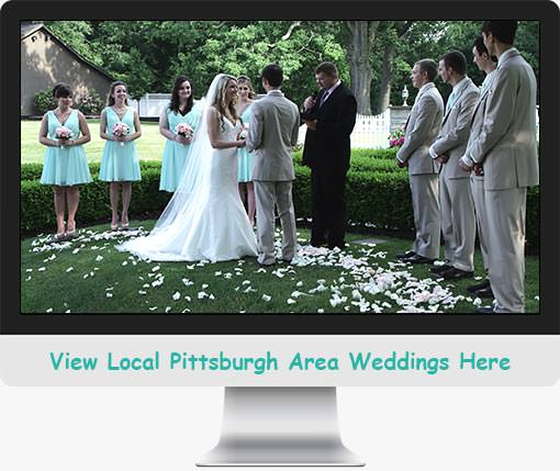 Watch Local Pittsburgh Weddings Here