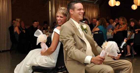 Adam and Cara Roenigk Wedding Reception at Cooper Hall in Saxonburg