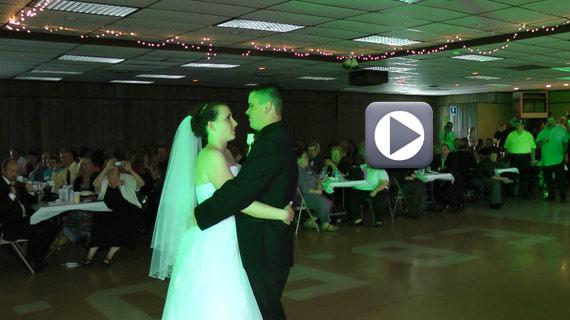Adam and Fallon Franz Wedding - East Butler Fire Hall