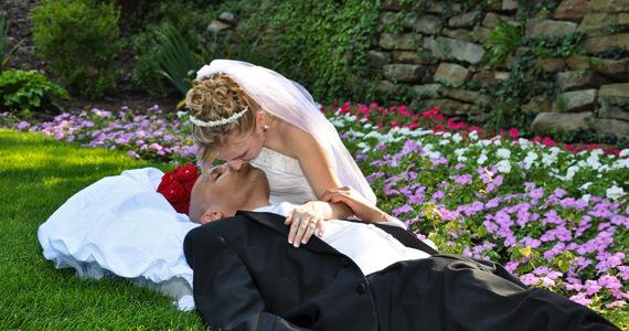 Alexio and Crystal Santiago Wedding Reception at the Butler Country Club