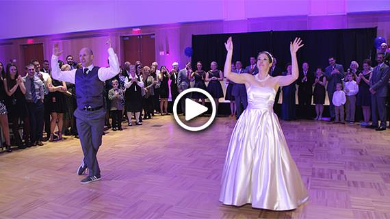 Incredible Bride and Groom First Dance at a Wedding Reception