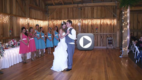 Betsy's Barn in Portersville PA - Renee and Josh's Wedding