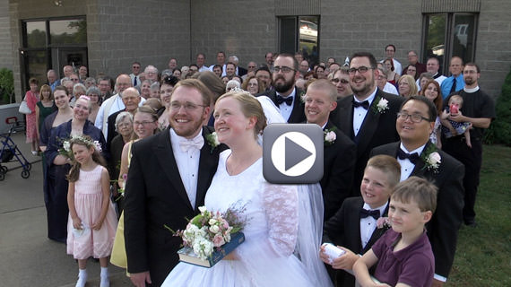 Brian and Betsy Westgate Wedding at Faith Lutheran Chuch in Butler PA