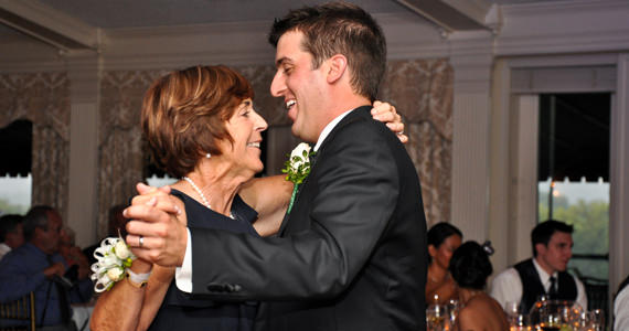 Brian and Lee Stecko Wedding Reception at The Oakmont Country Club