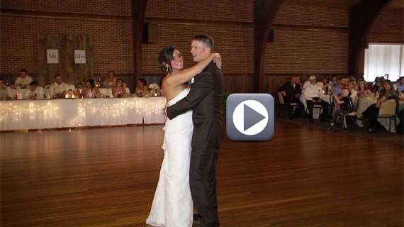 Chad and Julieanne Bell Wedding Reception at Laube Hall in Freeport PA