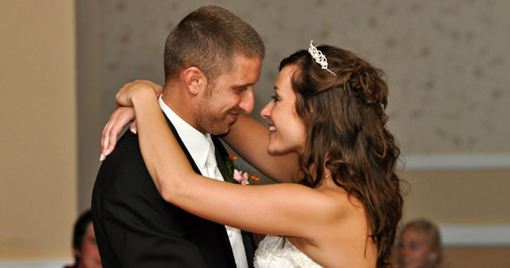 Chris and Mandy Jockel Wedding Reception at the Butler Days Inn