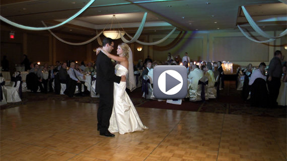 Christopher and Brittany Juzwick Wedding at Embassy Suites Pittsburgh Airport