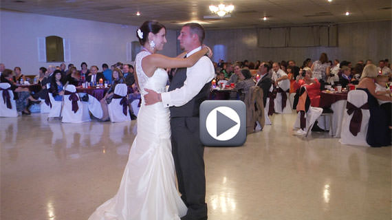 Coleman Hall at Tanglewood Senior Center - Chelsea and Clinton Werth Wedding