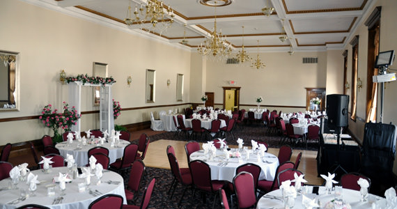 The Grand Ballroom at Cornerstone Commons in Butler PA