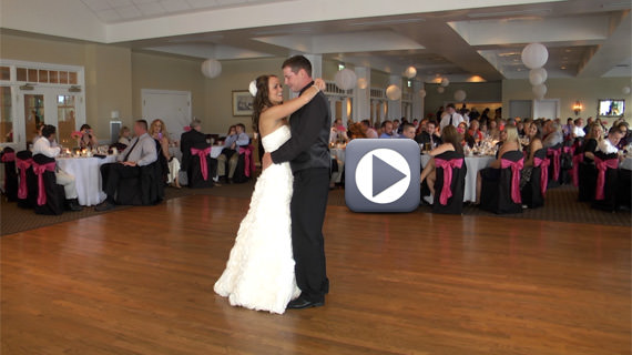 Craig and Krista McCaslin Wedding at the Butler Country Club