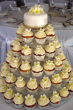 Cupcake Trees at wedding receptions