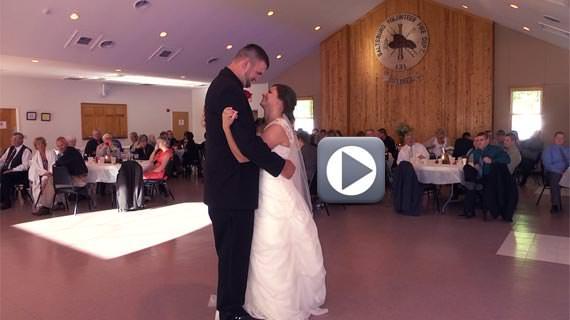Saltsburg River Hall Wedding for David and Amanda Kline