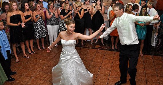 Drew and Kara Nedderman Wedding Reception at The Radisson Hotel West Middlesex