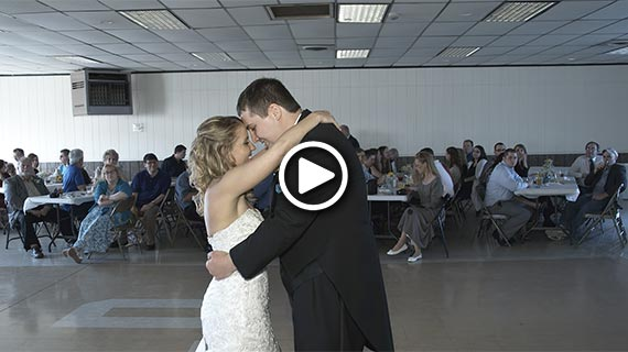 East Butler Fire Hall - Carrie and Michael's Wedding