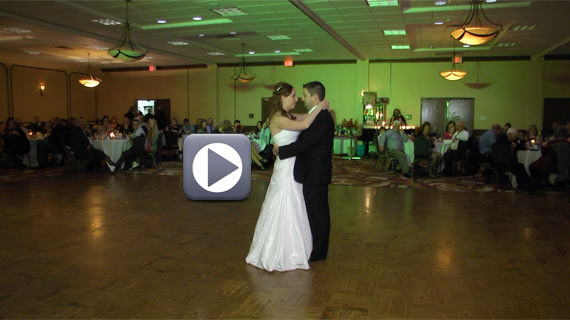Eric and Brittany Dellich Wedding Holiday Inn Pittsburgh North