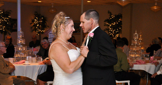 Eric and Kimberly Wehr Wedding Reception at The Atrium in Prospect PA