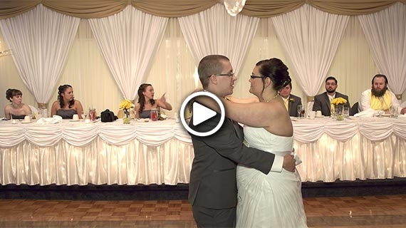 Hampton Banquet Hall in Gibsonia PA - Rachel and Tim's Wedding
