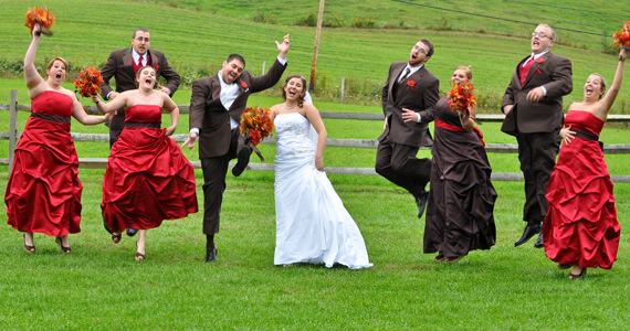 Jarod and Richelle Sterrett Wedding Reception at Armstrong Farms in Saxonburg PA