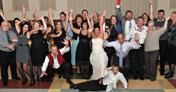 Jason and Jamie Saunders Wedding at the South Fayette Firehall in Cuddy PA