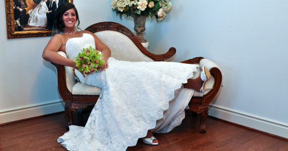 Jason and Katie Abbot Wedding Reception at Twelve Oaks Mansion