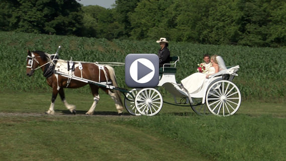 Jeffrey and Taylor Smith Wedding at Lingrow Farms in Leechburg PA
