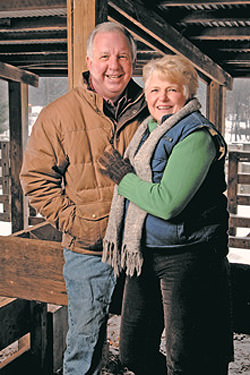 Armstrong Farms Bed & Breakfast - Owners John & Cathy Allen