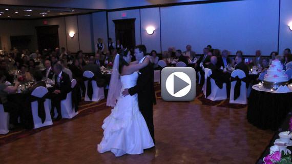 Jordan and Laura Bitzer Wedding Reception - Pittsburgh Marriott North