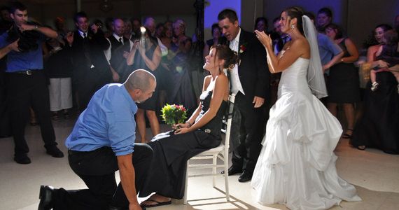Joseph and Courtney Behrens Wedding Reception at The Atrium in Prospect