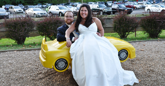 Joseph and Meghann Montenaro Wedding at The Mayernik Center in Pittsburgh