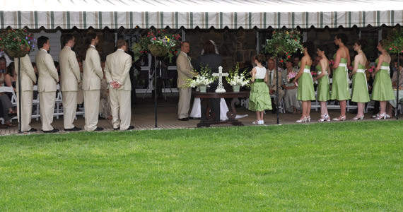 Larry & Jennifer Fitzpatrick Wedding - Butler Country Club