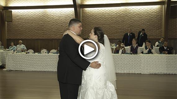 Laube Hall in Freeport Community Park - Stacy and Matthew's Wedding