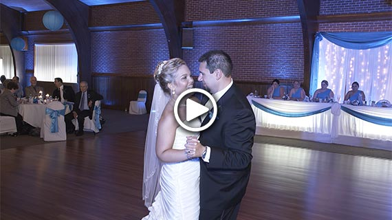 Laube Hall in Freeport PA - Carly and Christopher's Wedding