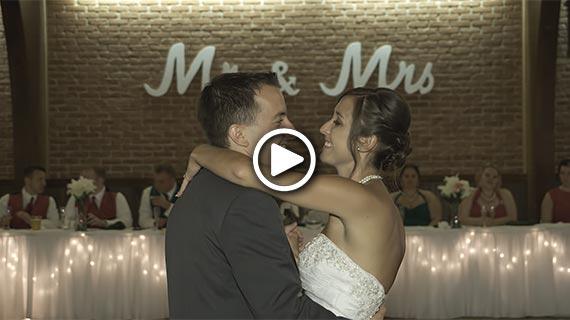 Laube Hall in Freeport - Jessica and Doug's Wedding