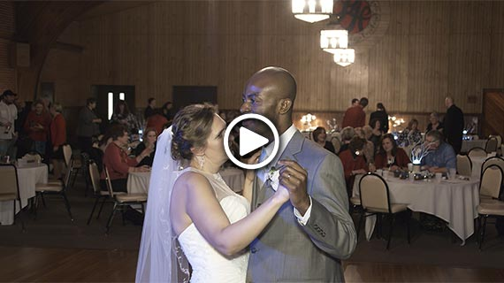 Laube Hall in Freeport PA - Ann and Sylvestre's Wedding