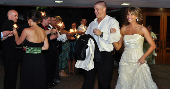 Matthew and Jessica Schwersenska Wedding at the Edgewood Country Club
