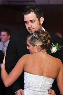 Nathan and April Petit Wedding at Cooper Hall in Saxonburg
