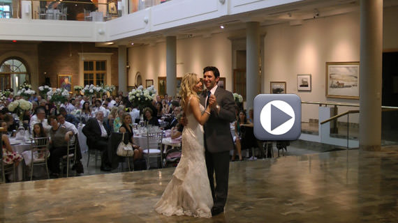 Nicholas and Carrie Verdi Wedding - Butler Institute of American Art Youngstown Ohio