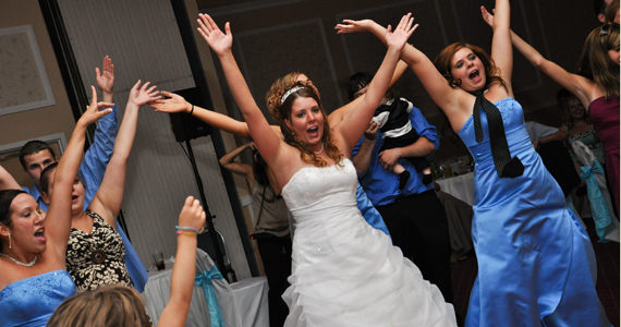 Patrick and Sarah Grubbs Wedding Reception at the Butler Days Inn
