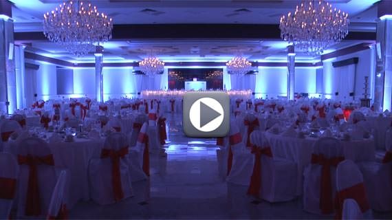 Popular Wedding Reception Uplighting Colors