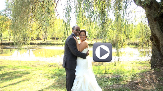 Ricky and Jennifer Reid Wedding at Succop Conservany in Butler