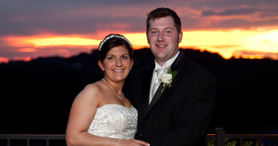 Robert and Shawna Ricker Wedding Reception at Twelve Oaks Mansion in Mars PA