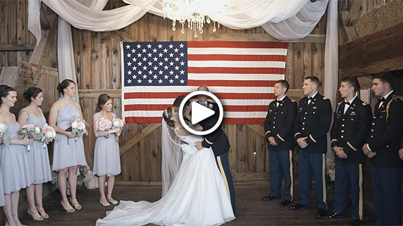 Rustic Acres Farm in Volant - Sarah and Zachary's Wedding