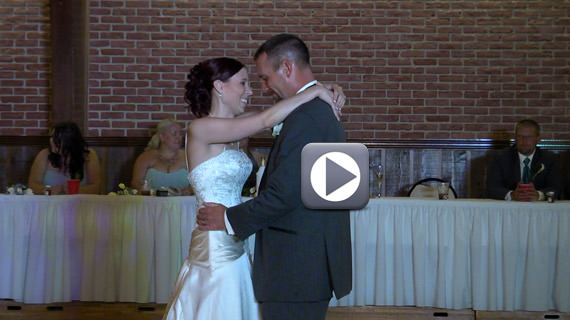 Shawn and Danielle McCommon Wedding at Laube Hall in Freeport PA