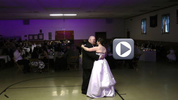 Wedding Reception at the Prospect Fire Hall in Prospect PA