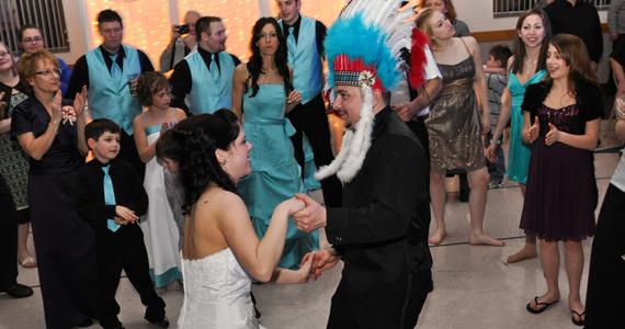 Wedding Reception for Stephen and Katie Erdley