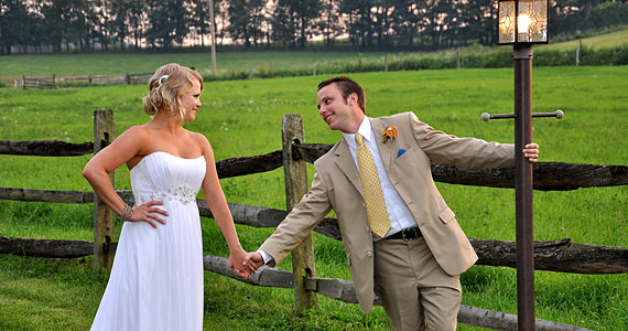 Stephen and Sara Buzard Wedding at Armstrong Farms in Saxonburg PA