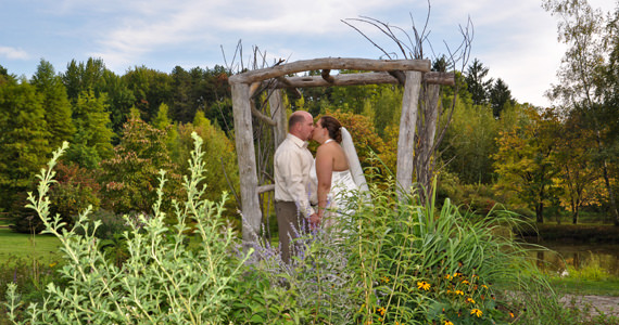 Steve and Katie Rauschenberger Wedding at Succop Nature Park in Butler PA