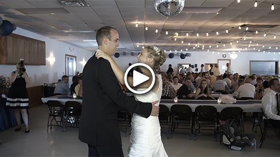 Sugarcreek Fire Hall - Taylor and Evan's Wedding